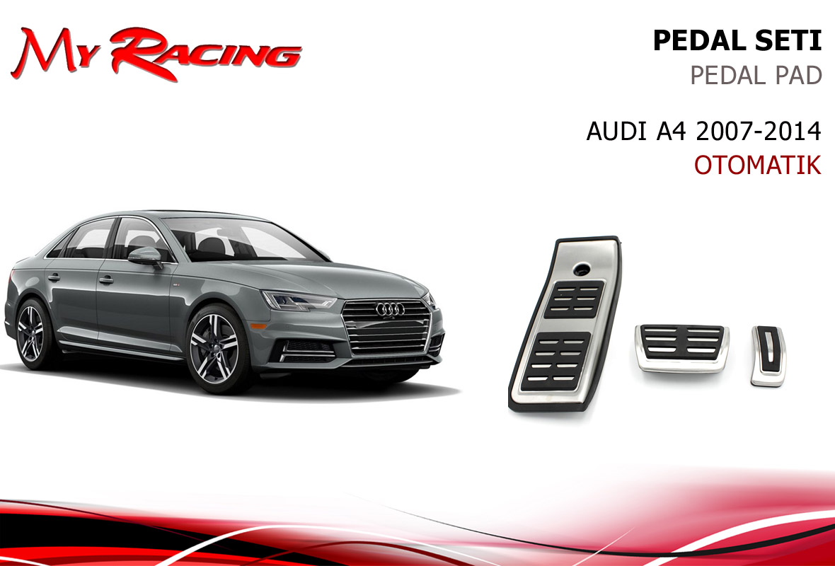 AUDI A4 2016- PEDAL SETİ OTOMATİK