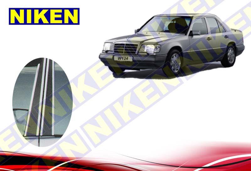MERCEDES BENZ W124 KAPI DİREK KROMU(1986-1994)