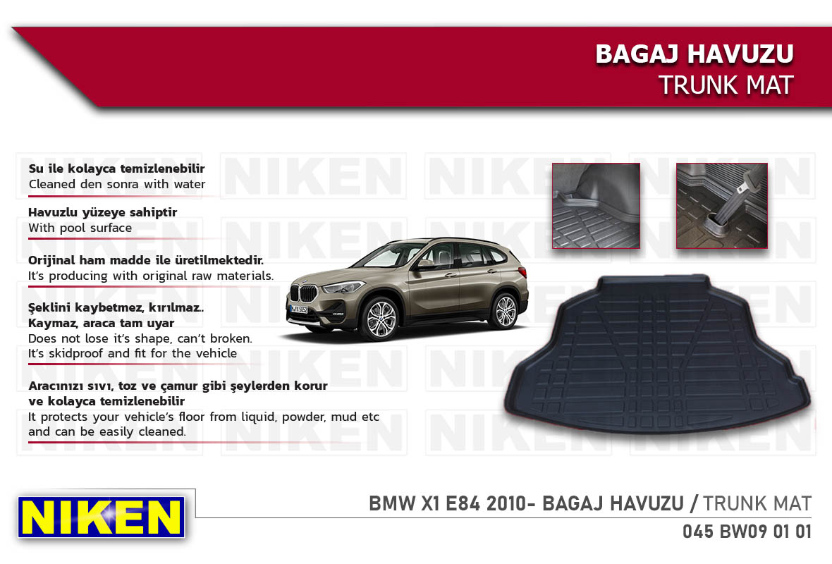 BMW X1 E84 2010- BAGAJ HAVUZU