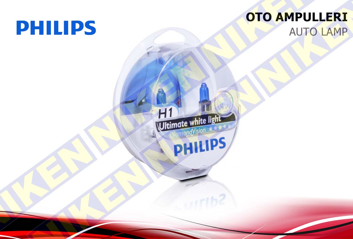 PHILIPS DIAMOND VISION H1 12V 55W
