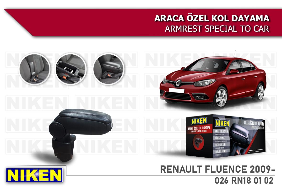 RENAULT FLUENCE 2009- ARACA ÖZEL KOL DAYAMA