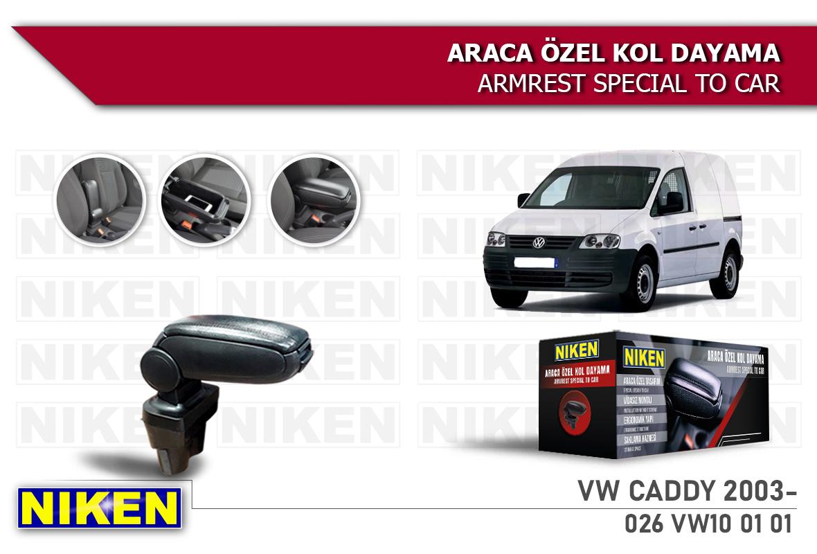 VW CADDY 2003- ARACA ÖZEL KOL DAYAMA SİYAH