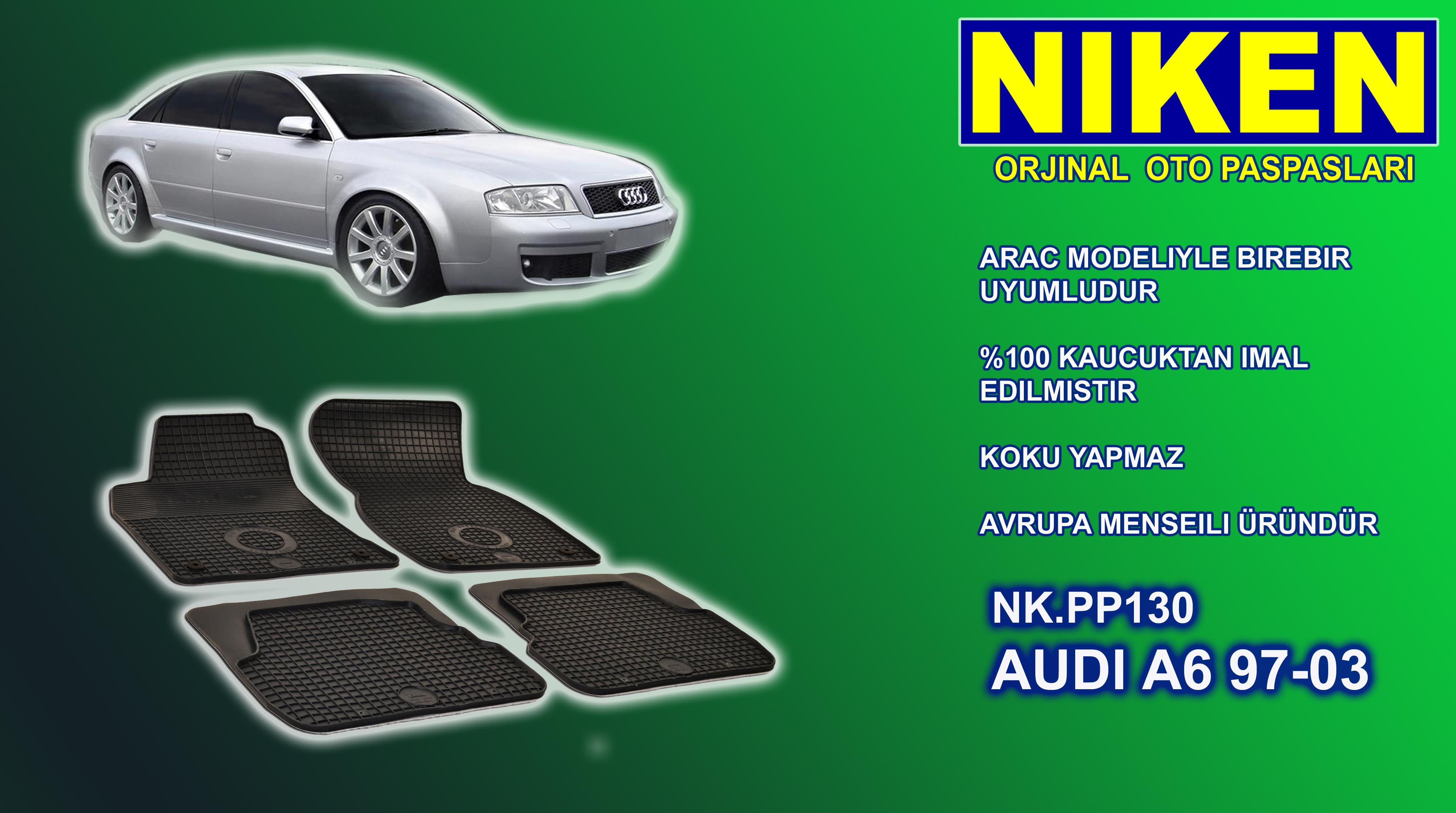 AUDI A6 (1997-03) PASPAS 4LÜ (NK.PP130)