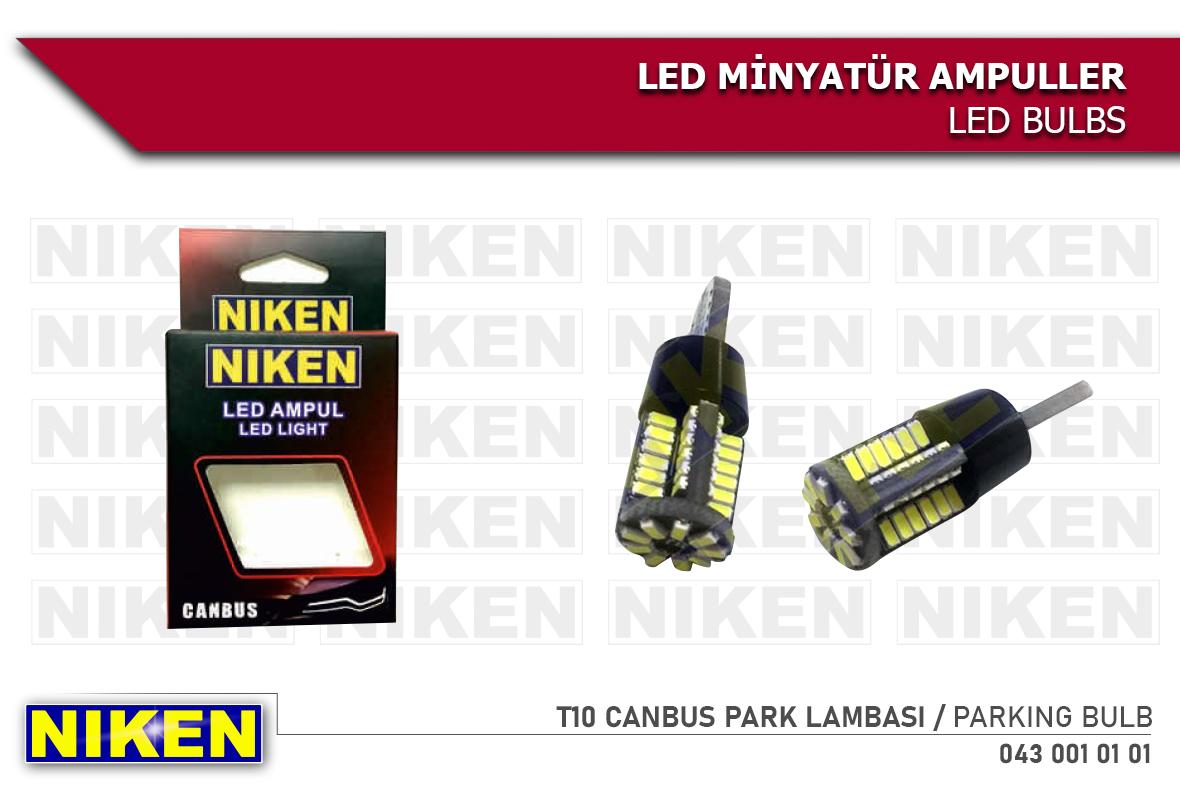 LED AMPUL T10 CANBUS PARK LEDİ