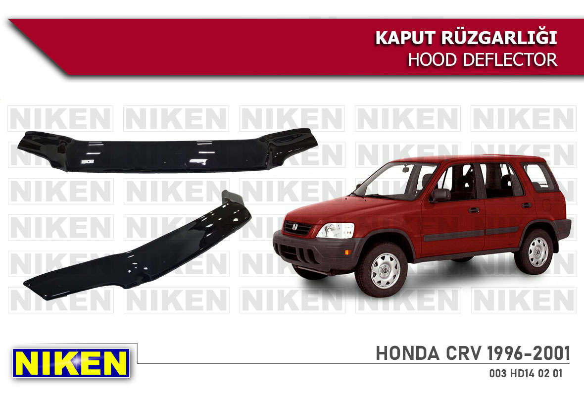 HONDA CR-V HOOD DEFLECTOR ECO 1996-2001