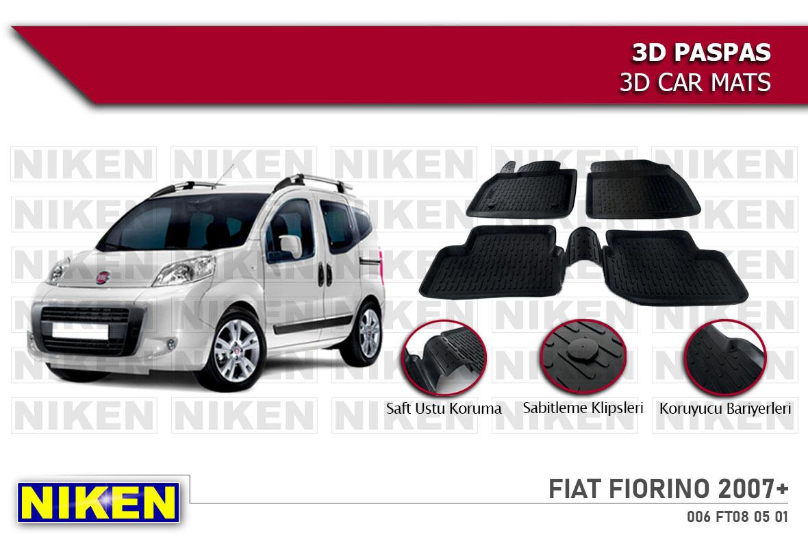FIAT FIORINO 2007- 3D PASPAS