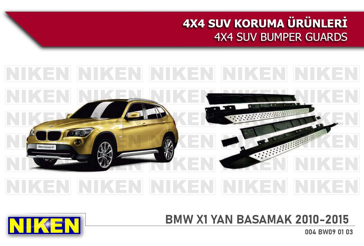 BMW X1 2010-2015 YAN BASAMAK