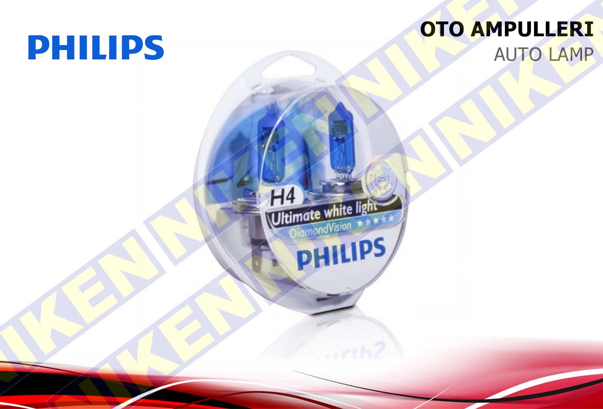 PHILIPS DIAMOND VISION H4 12V 60/55W