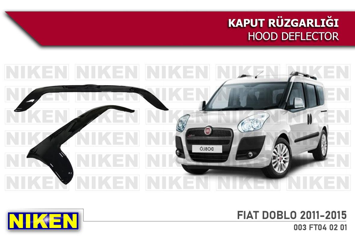 FIAT DOBLO 2011-2015  KAPUT RÜZGARLIĞI ECO