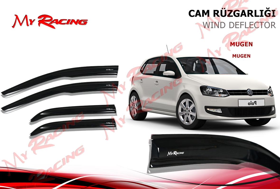 VW POLO HB 2011- MUGEN CAM RÜZGARLIĞI 4LÜ