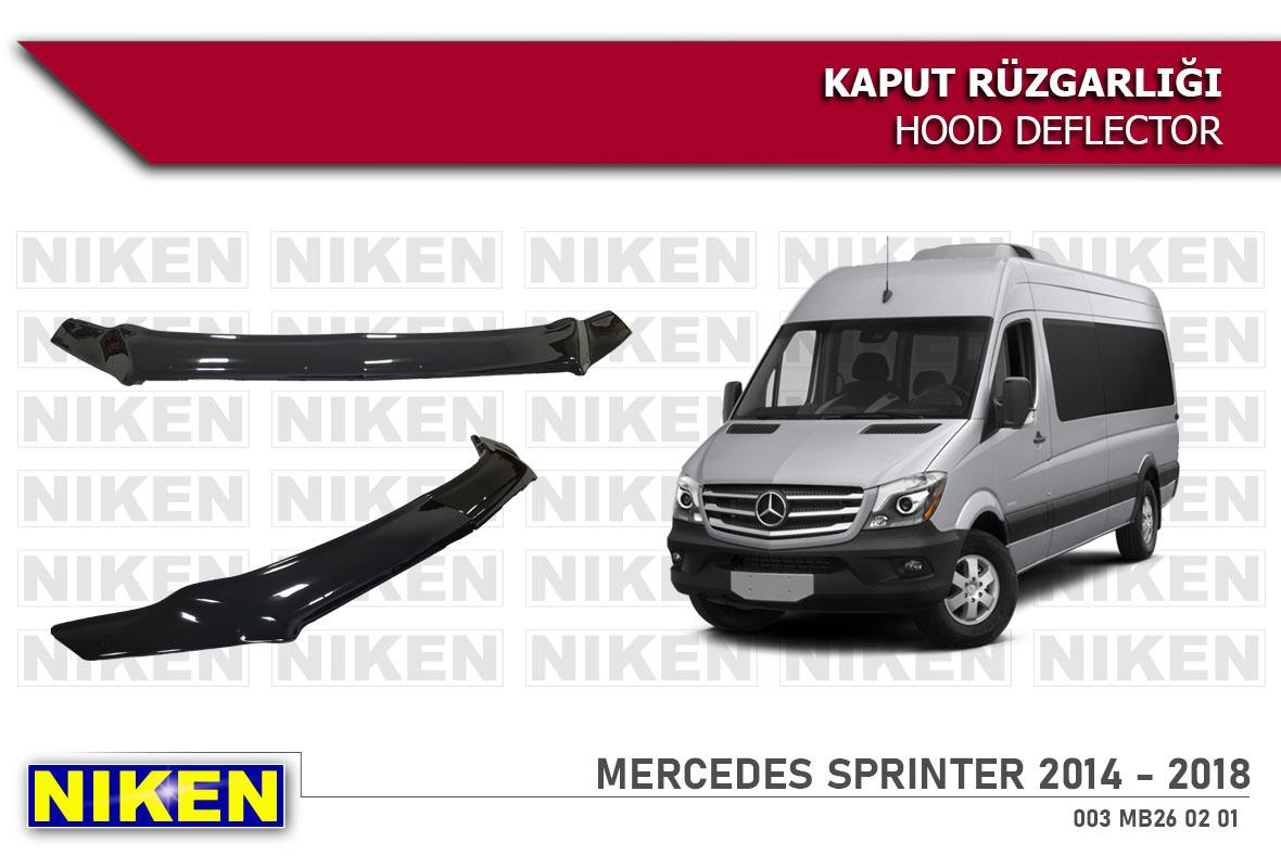 MERCEDES SPRINTER 2014-2018  KAPUT RÜZGARLIĞI ECO