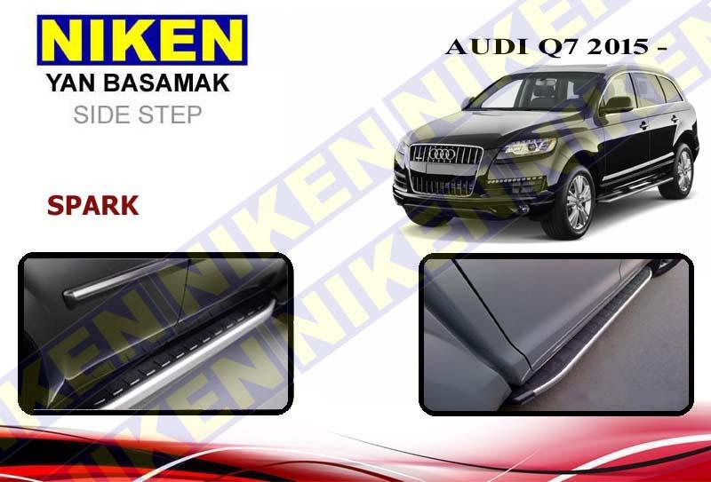 AUDI Q7 2015> YAN BASAMAK SPARK 213 cm