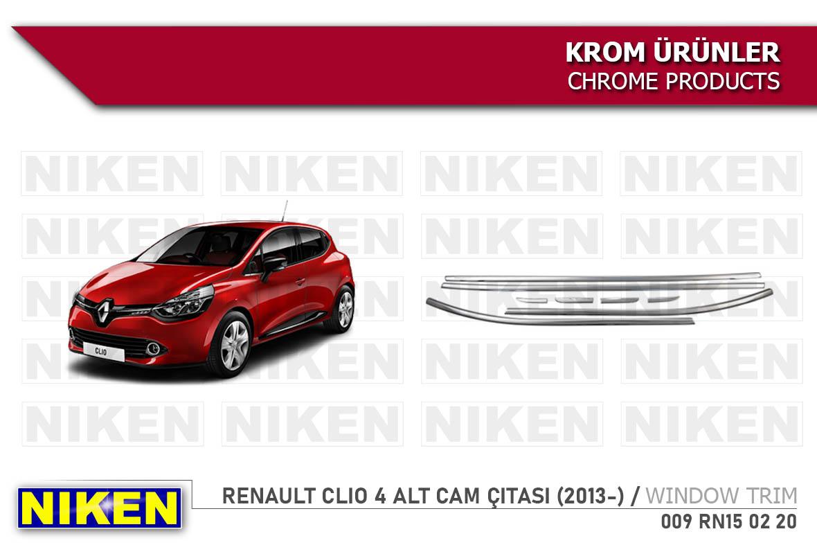RENAULT CLIO 4 ALT CAM ÇITASI (2013-)