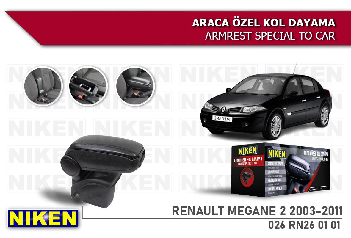 RENAULT MEGANE II 2003-2011 ARACA ÖZEL KOL DAYAMA