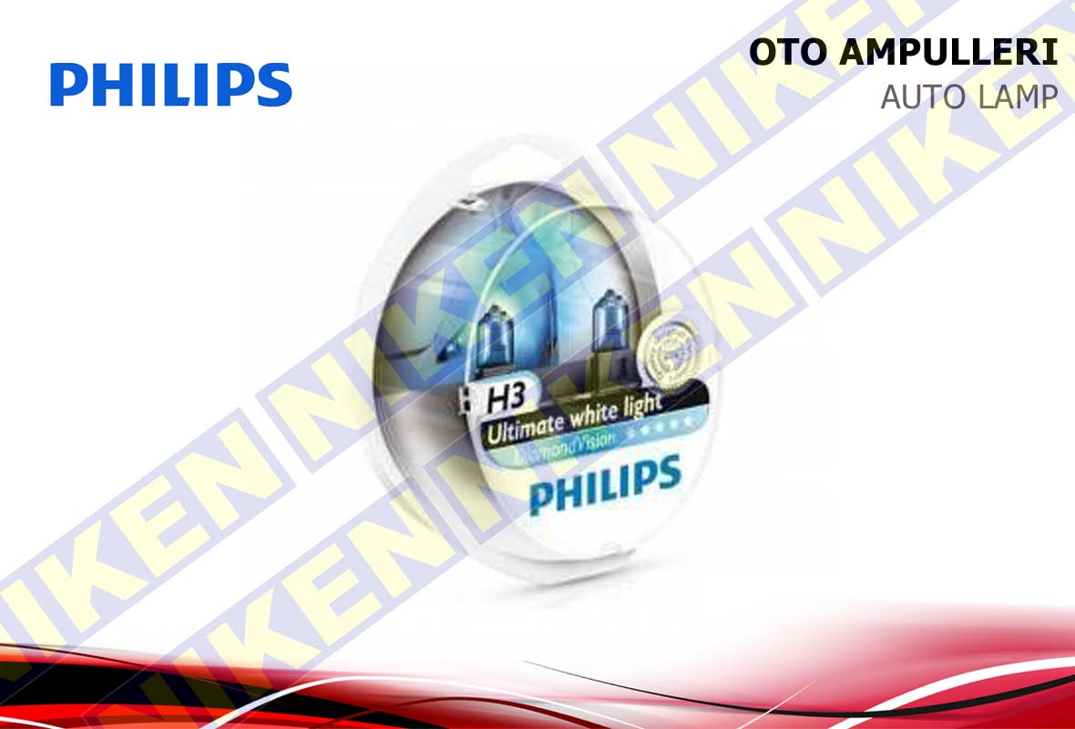 PHILIPS DIAMOND VISION H3 12V 55W