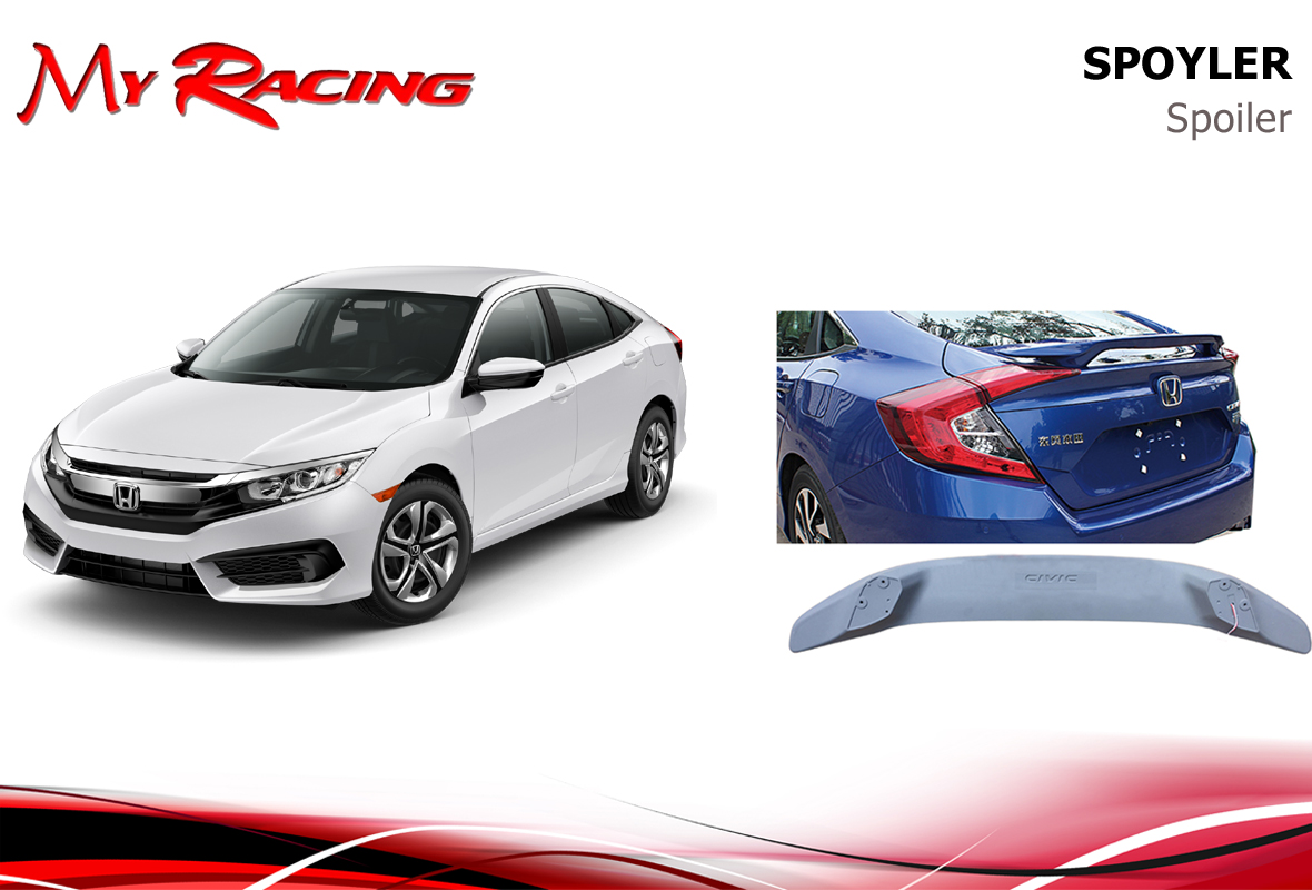 HONDA CIVIC 2016 SPOILER