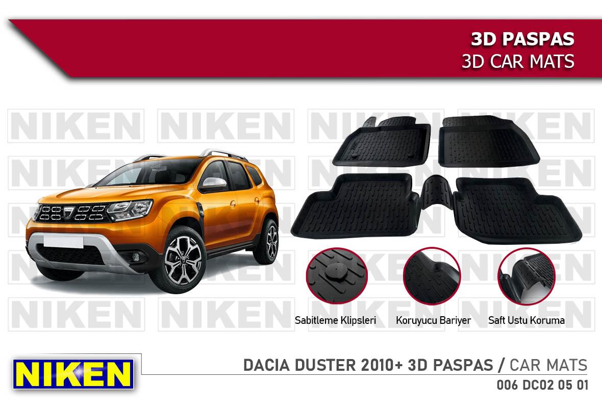 DACIA DUSTER 2010- 3D PASPAS