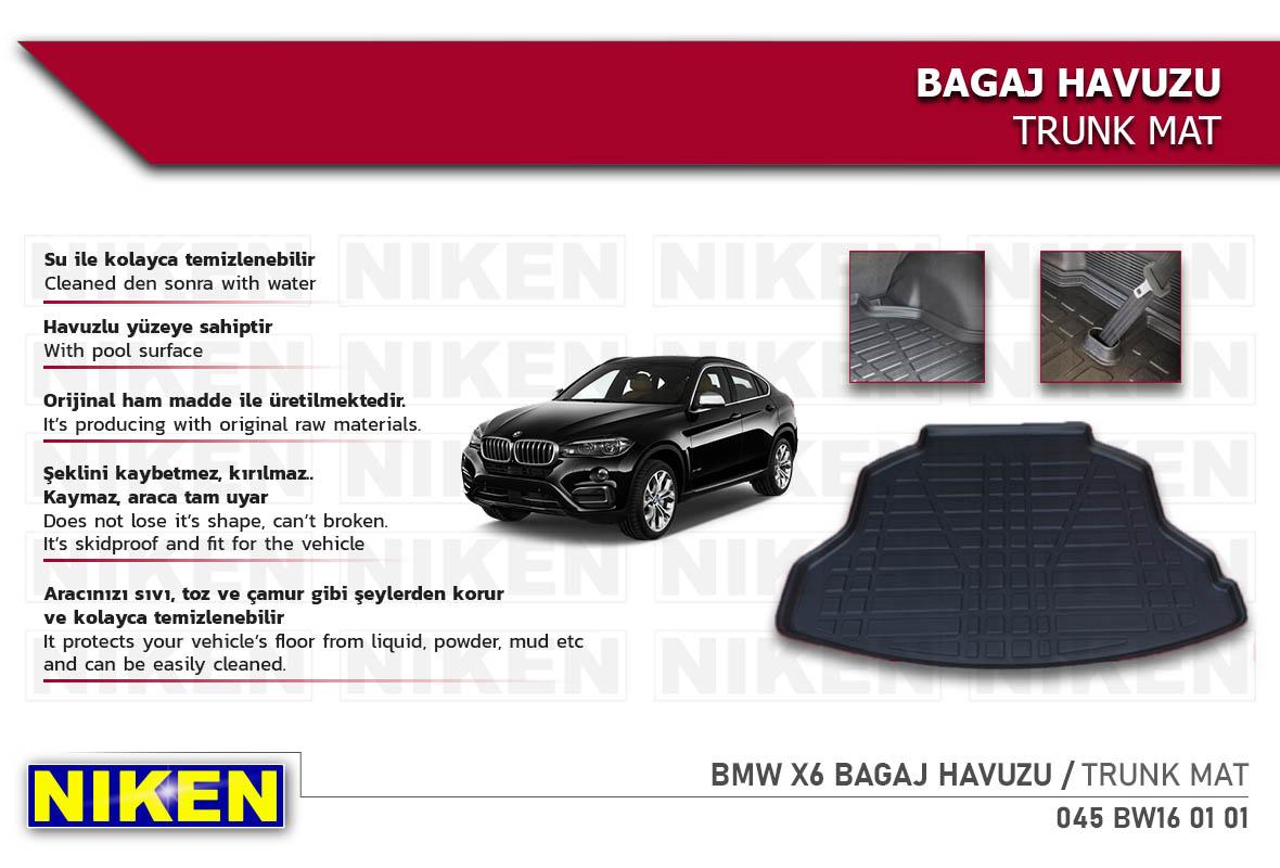 BMW X6 BAGAJ HAVUZU