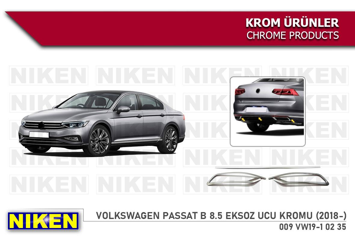 VW PASSAT B 8.5 DİFÜZÖR KROMU (2018-)