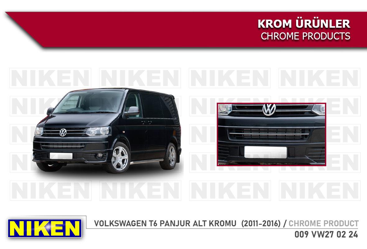 VW T5 (FACELIFT) PANJUR ALT KROMU  (2010-2015)