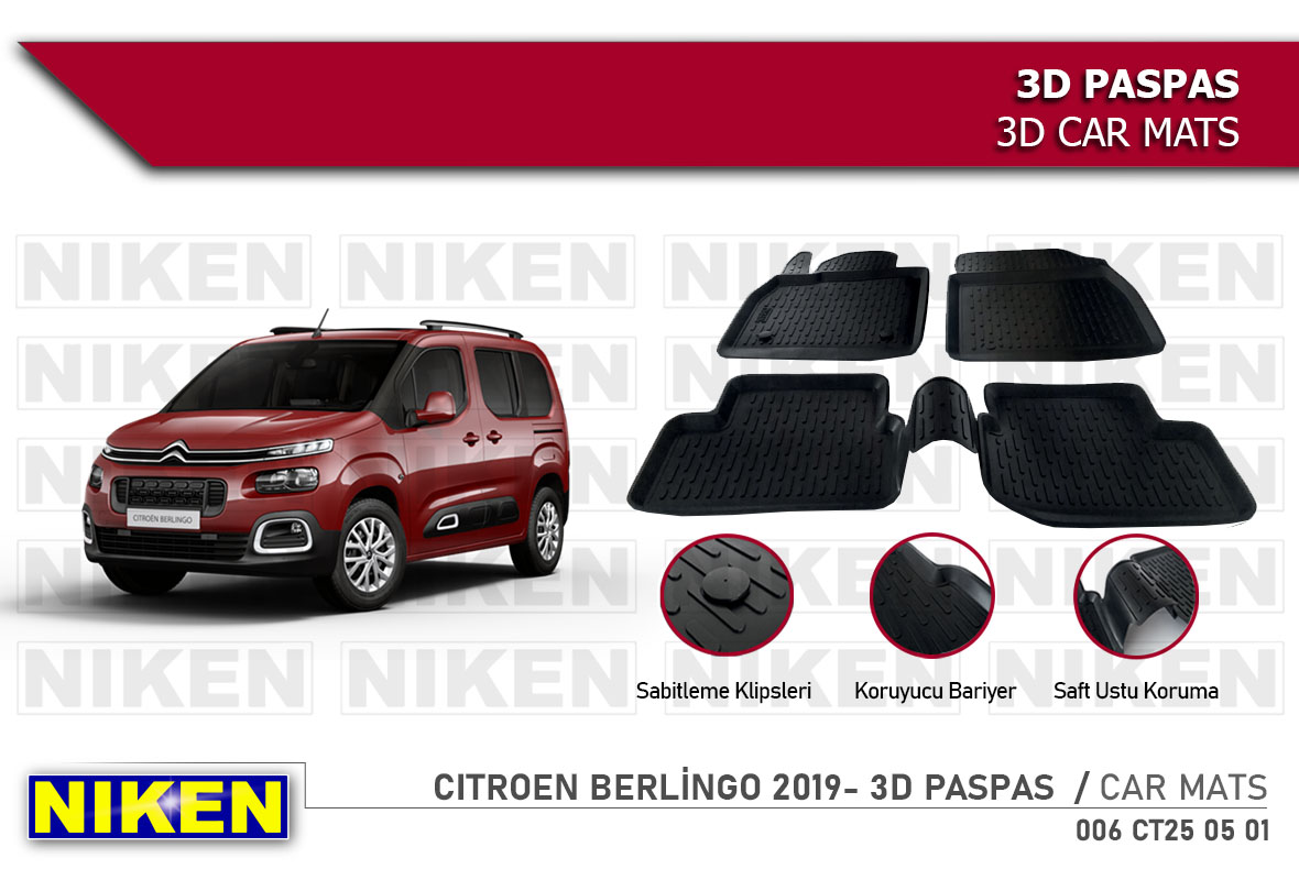 CITROEN BERLİNGO 2019- 3D PASPAS