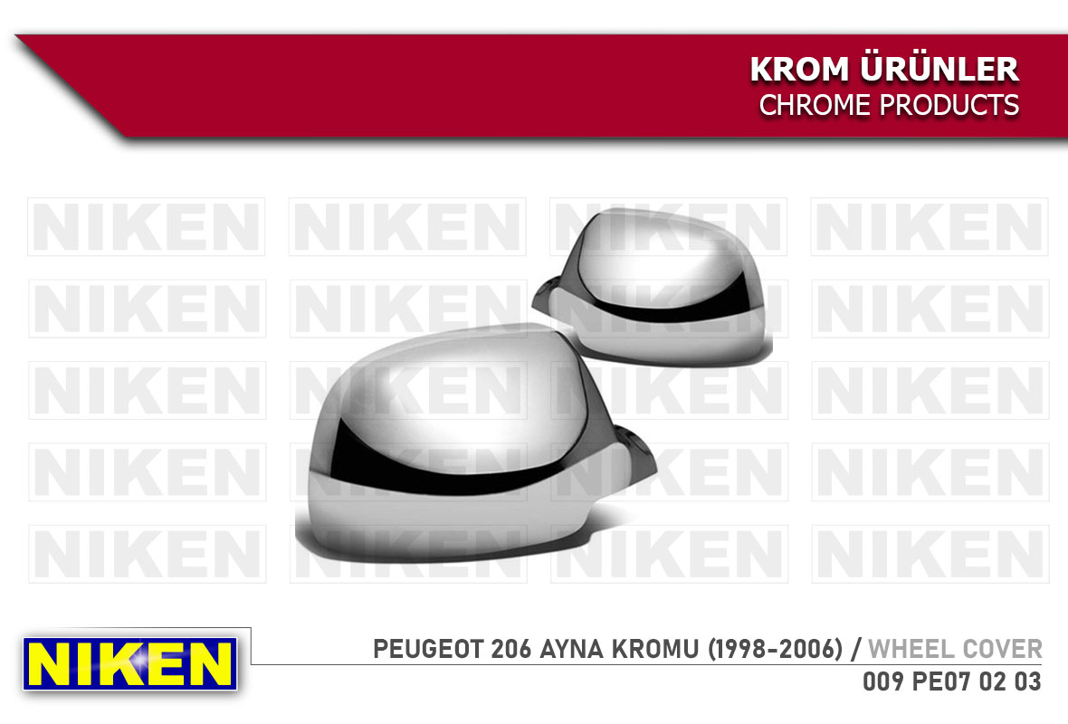 PEUGEOT 206 AYNA KROMU (1998-2006)