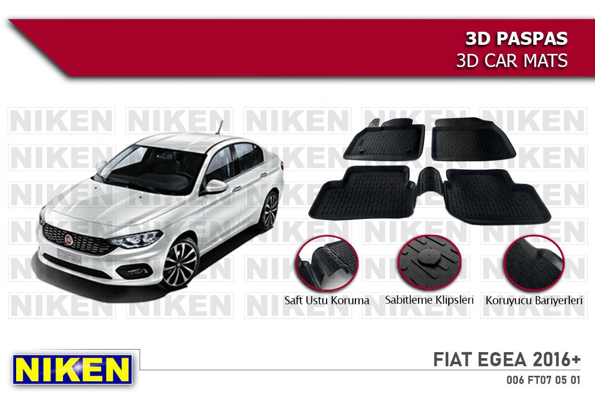 FIAT EGEA 2016- 3D PASPAS