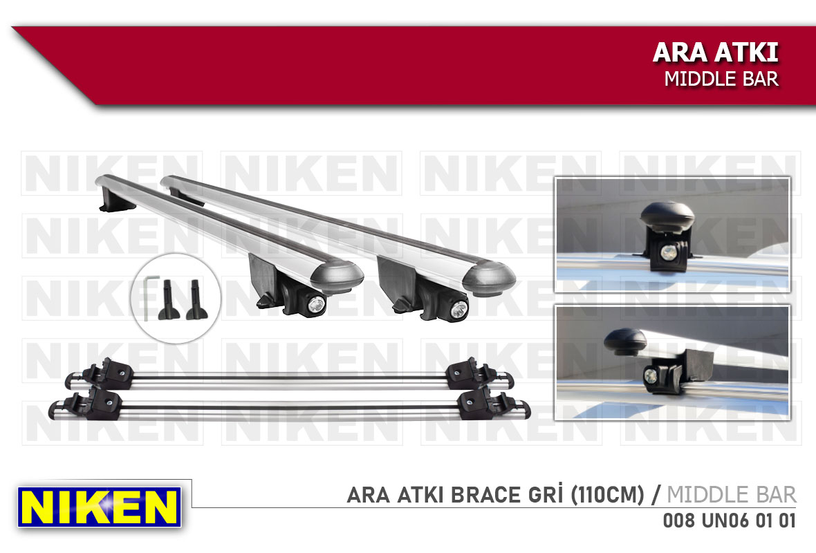 ARA ATKI BRACE GRİ (110CM)