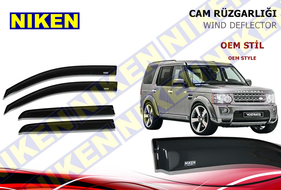LAND ROVER DISCOVERY 2004-2010 CAM RÜZGARL(PF-257)