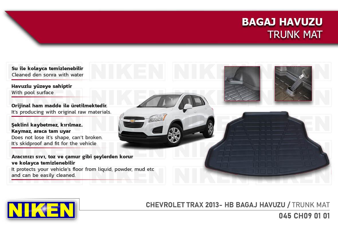 CHEVROLET TRAX 2013- HB BAGAJ HAVUZU