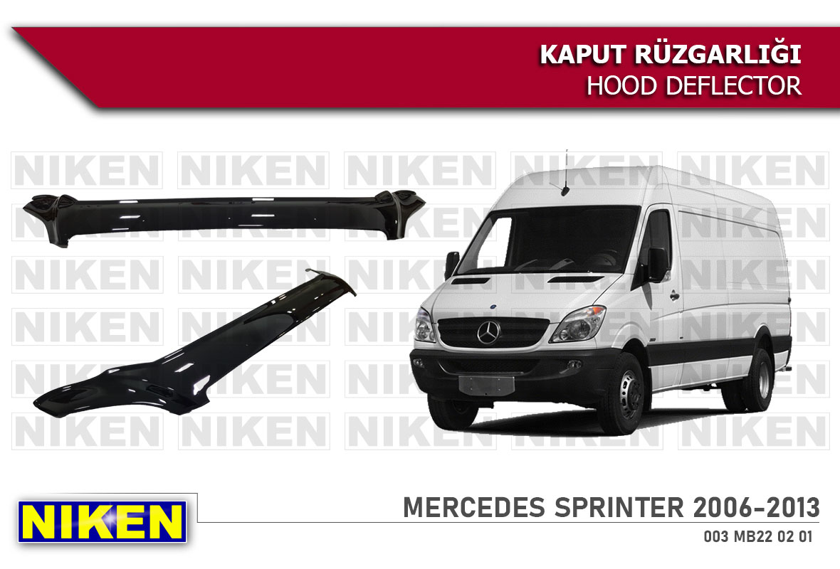 MERCEDES SPRINTER HOOD DEFLECTOR ECO 2006-2013