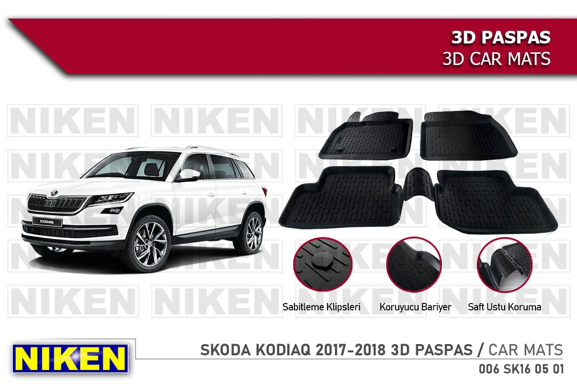 SKODA KODIAQ 2017- 3D PASPAS