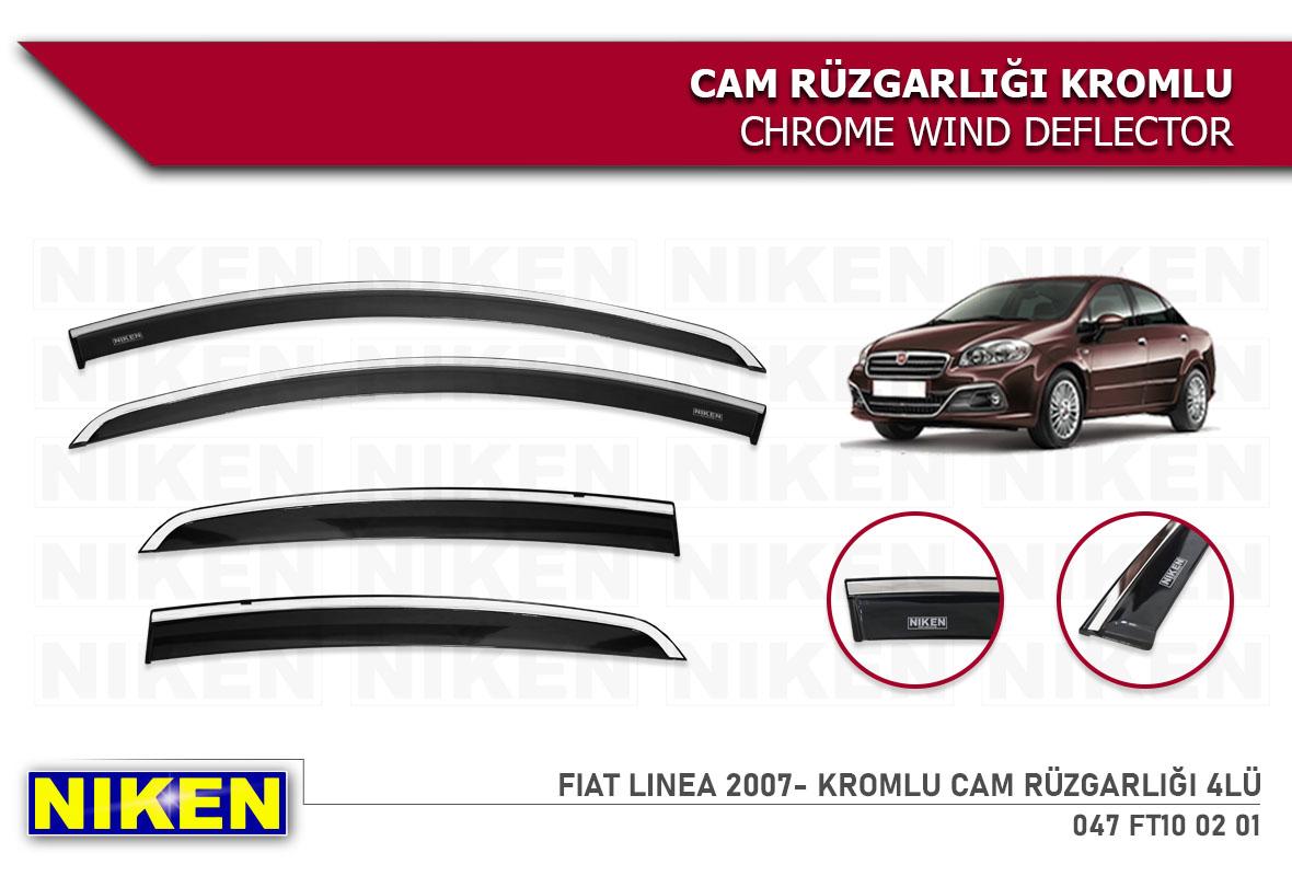 FIAT LINEA 2007- KROMLU CAM RÜZGARLIĞI 4LÜ