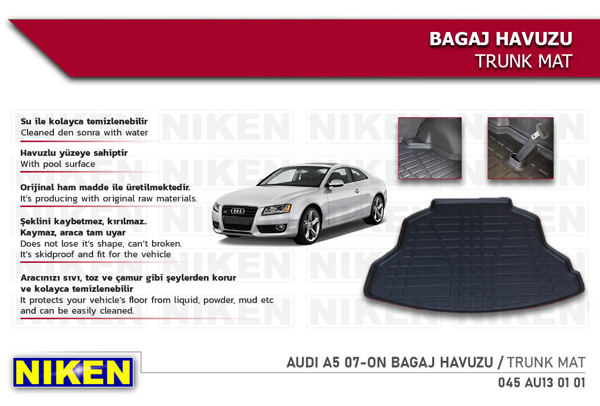 AUDI A5 07-ON BAGAJ HAVUZU
