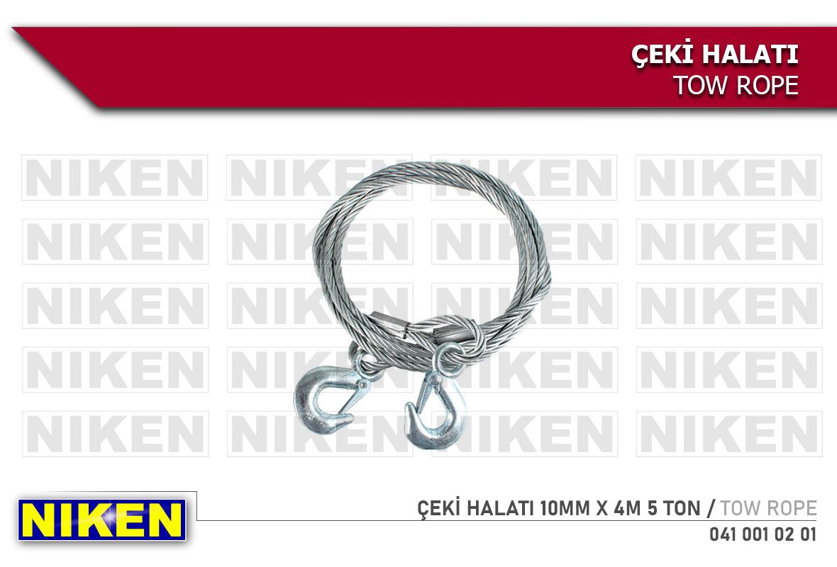 ÇEKİ HALATI 10MM X 4M 5 TON