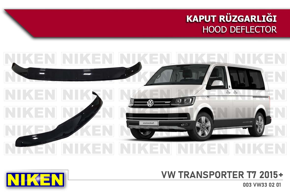 VW TRANSPORTER T-7  HOOD DEFLECTOR 2015- ECO
