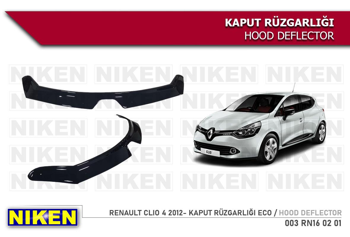 RENAULT CLIO 4 2012- KAPUT RÜZGARLIĞI ECO