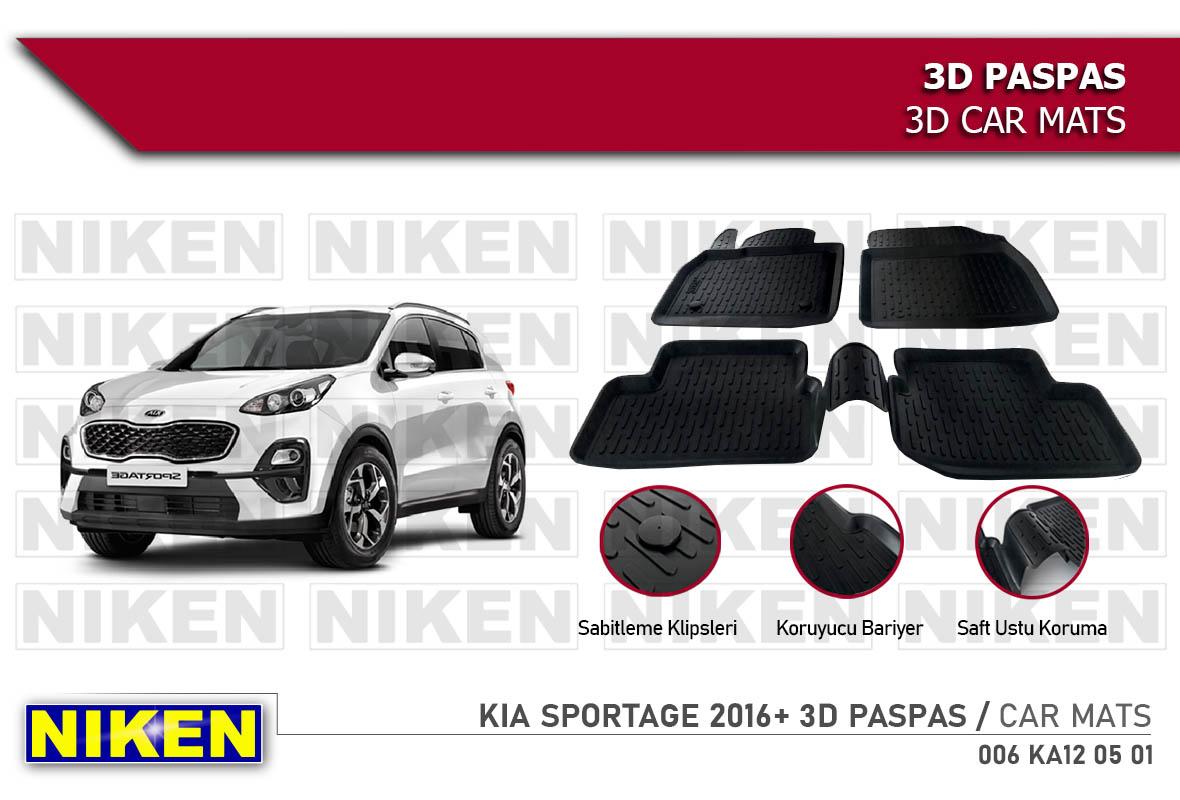 KIA SPORTAGE 2016- 3D PASPAS