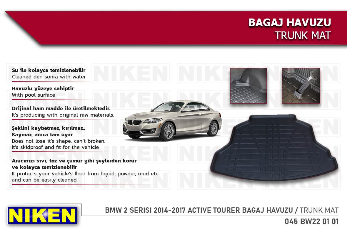 BMW 2 SERISI 2014-2017 ACTIVE TOURER BAGAJ HAVUZU