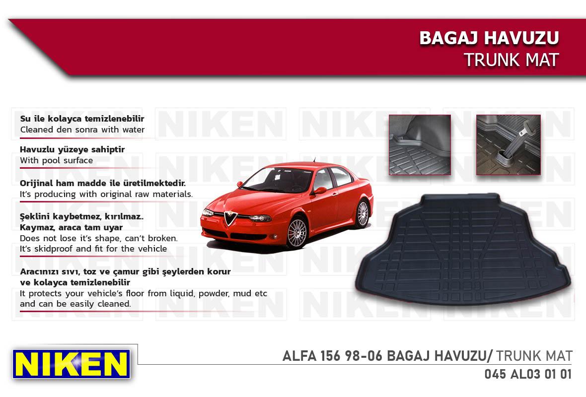 ALFA 156 98-06 BAGAJ HAVUZU