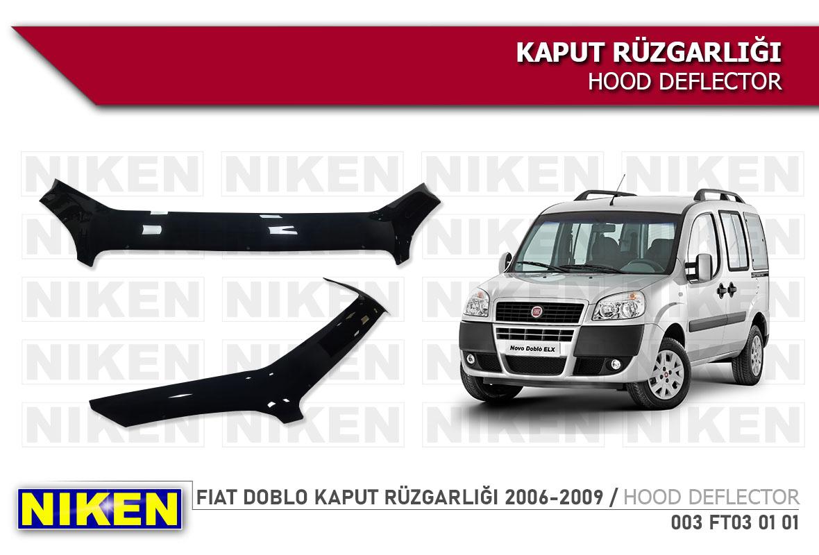 FIAT DOBLO KAPUT RÜZGARLIĞI 2006-2009
