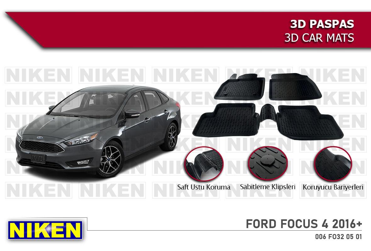 FORD FOCUS 4 2016- 3D PASPAS