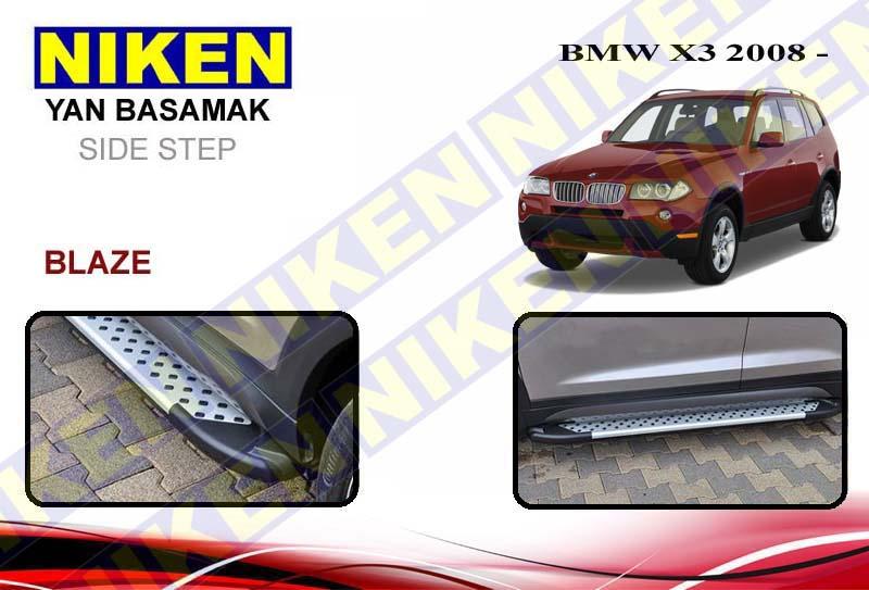 BMW X3 2008> YAN BASAMAK BLAZE 183 cm